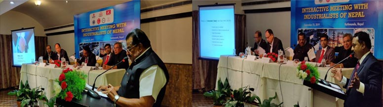 Interactive Meeting with Industrialists of Nepal
