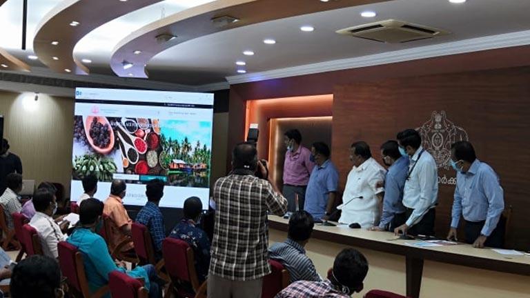 കേരള ഇ മാര്ക്കറ്റ് വെബ് പോര്ട്ടലിന്റെ ഔദ്യോഗിക ഉദ്ഘാടനം